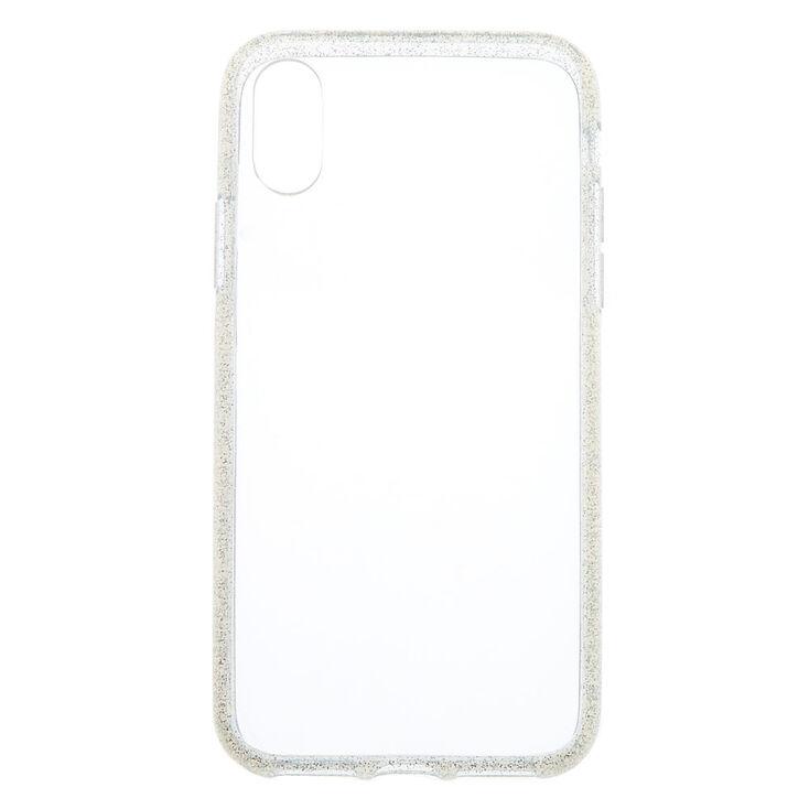 Clear Glitter Phone Case - Fits iPhone X/XS,