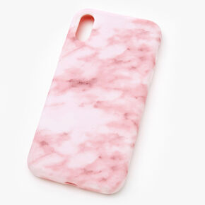 Blush Marble Phone Case - Fits iPhone XR,