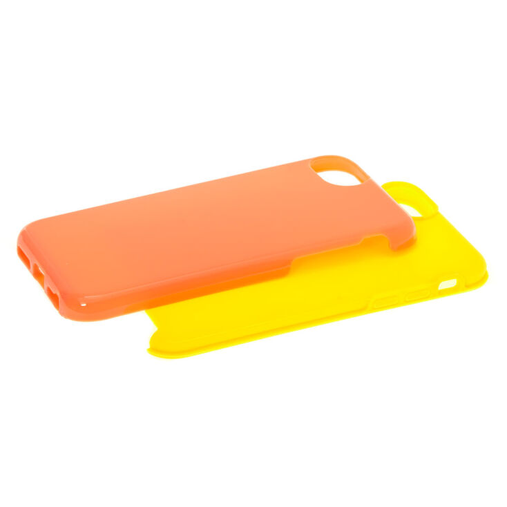 Coral Protective Phone Case - Fits iPhone 6/7/8/SE,
