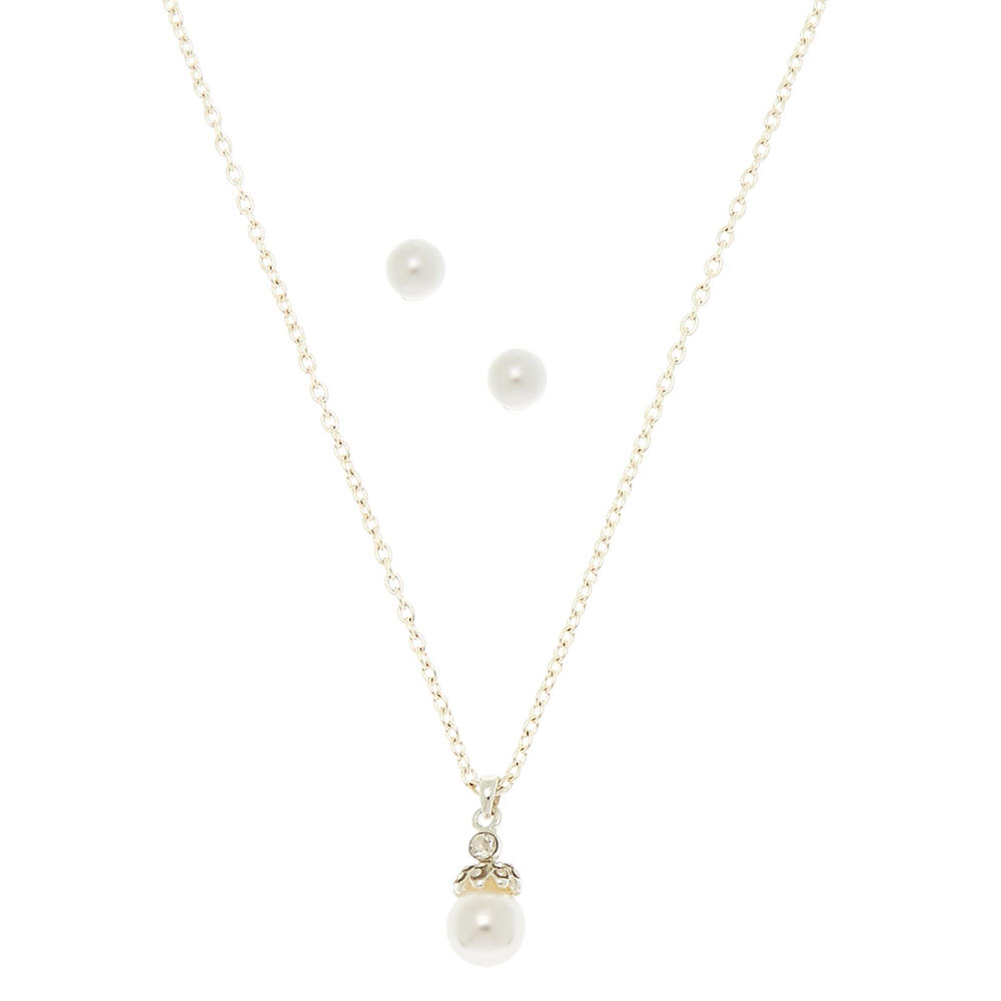ef76c1ea15178 Elegant Pearl Jewelry Set - 2 Pack