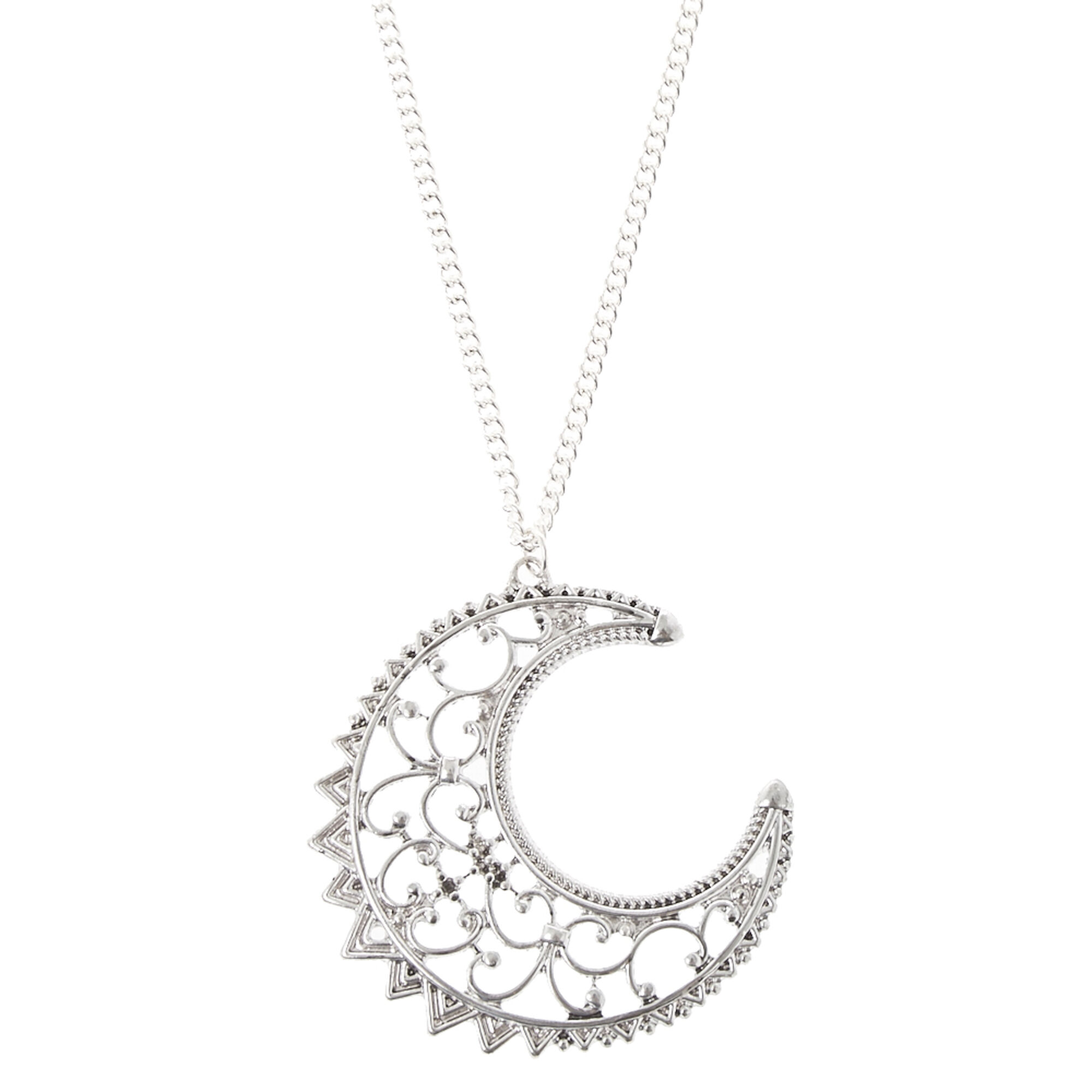 gold mizuki moon yellow gallery half pendant product lyst diamond necklace in normal jewelry icicle