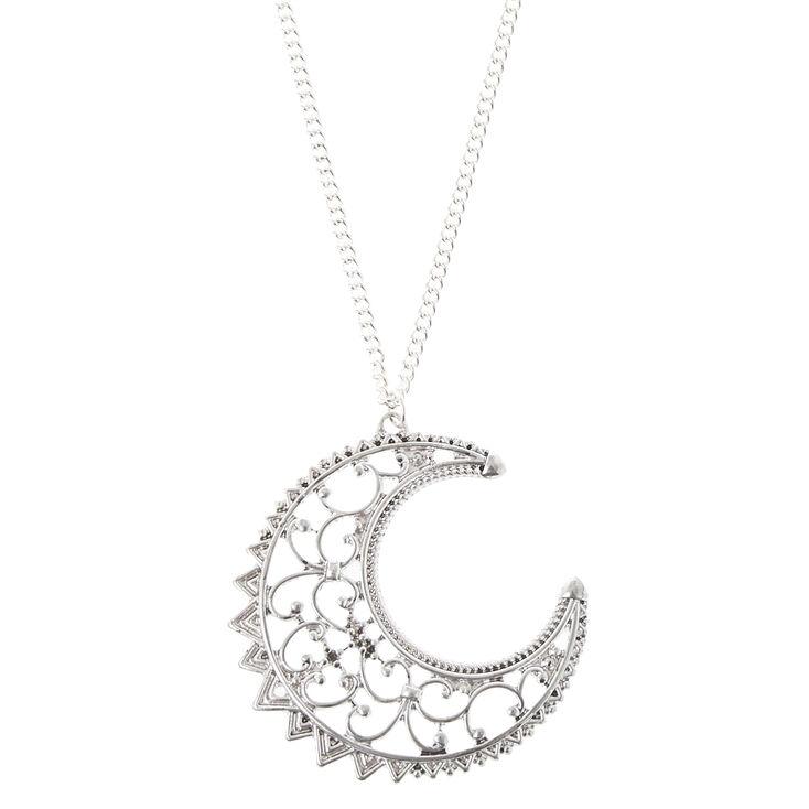 Half moon pendant necklace icing us half moon pendant necklace aloadofball Images