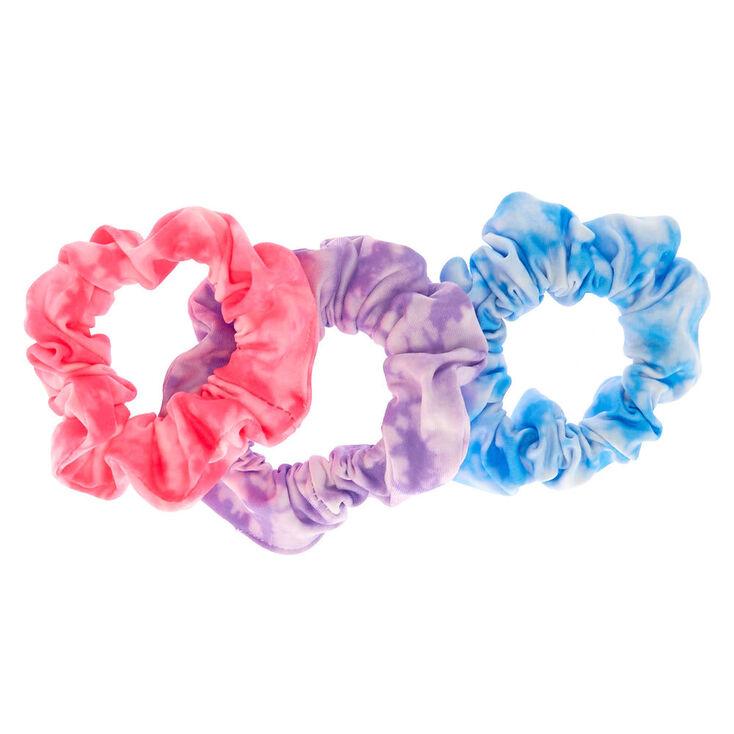 Tie Dye Twist Hair Scrunchies - 3 Pack,