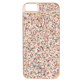 Sprinkles Glitter Phone Case - Fits iPhone 6/7/8 Plus,