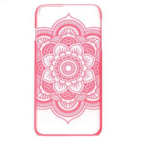 Pink Mandala Pattern Phone Case,