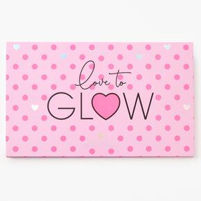 Love To Glow 39 Pan Eyeshadow Palette,