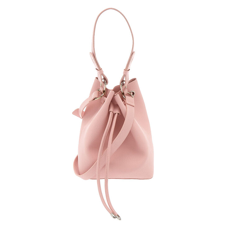 Bucket Crossbody Bag - Pink,
