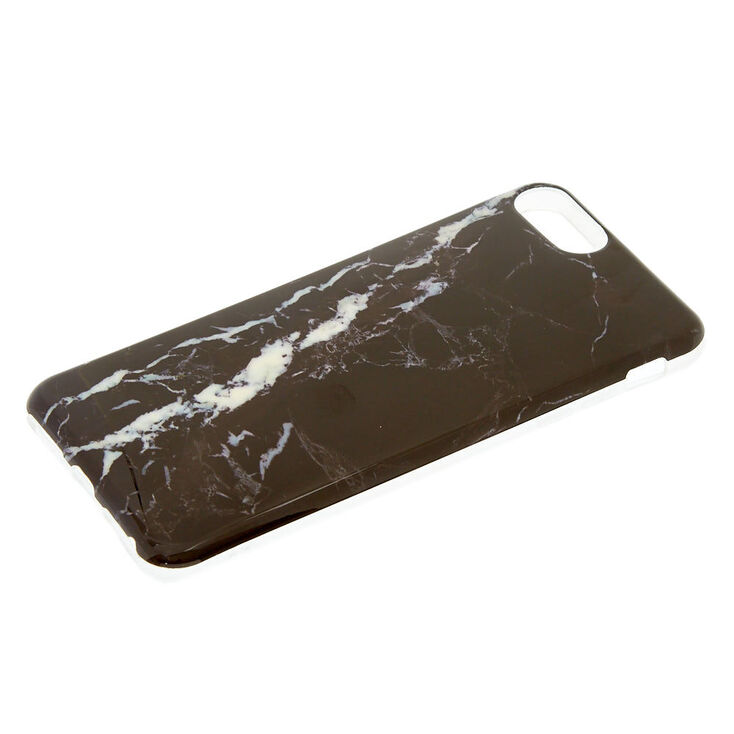 Black Marble Phone Case - Fits iPhone 6/7/8/SE,
