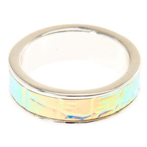 Holographic Mermaid Ring,