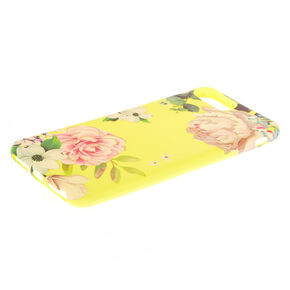 Yellow Floral Phone Case - Fits iPhone 6/7/8 Plus,