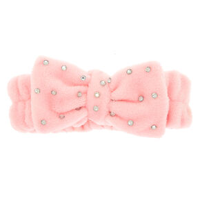 Bow Headwrap - Pink,