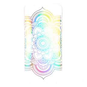 Rainbow Holographic Mandala Phone Case - Fits iPhone 6/6S Plus,