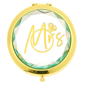 Mrs. Compact Mirror - Gold,