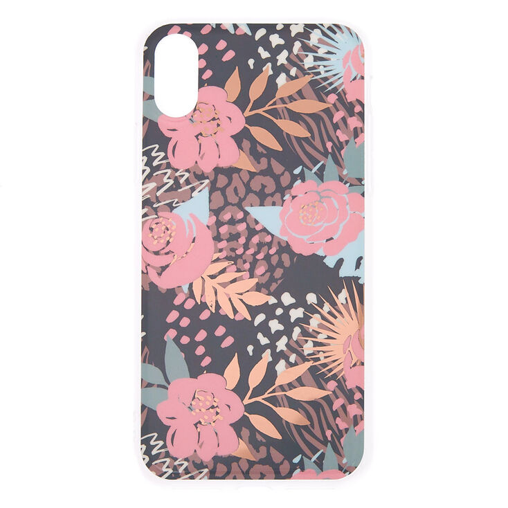 Wild Floral Phone Case - Fits iPhone X/XS,