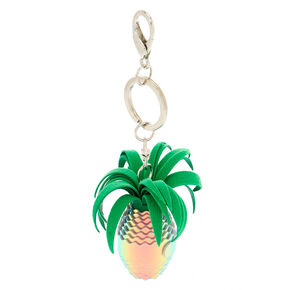 Holographic Pineapple Keychain,