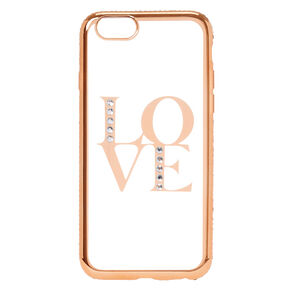Rose Gold Love Phone Case - Fits iPhone 6/7/8 Plus,