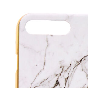 Marble Style & Gold Phone Case,