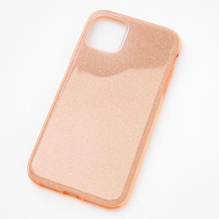 Rose Gold Glitter Phone Case - Fits iPhone 11,