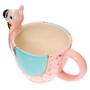 Pastel Ceramic Llama Mug,