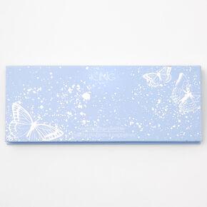 Blue Butterfly Foil Eyeshadow Palette,