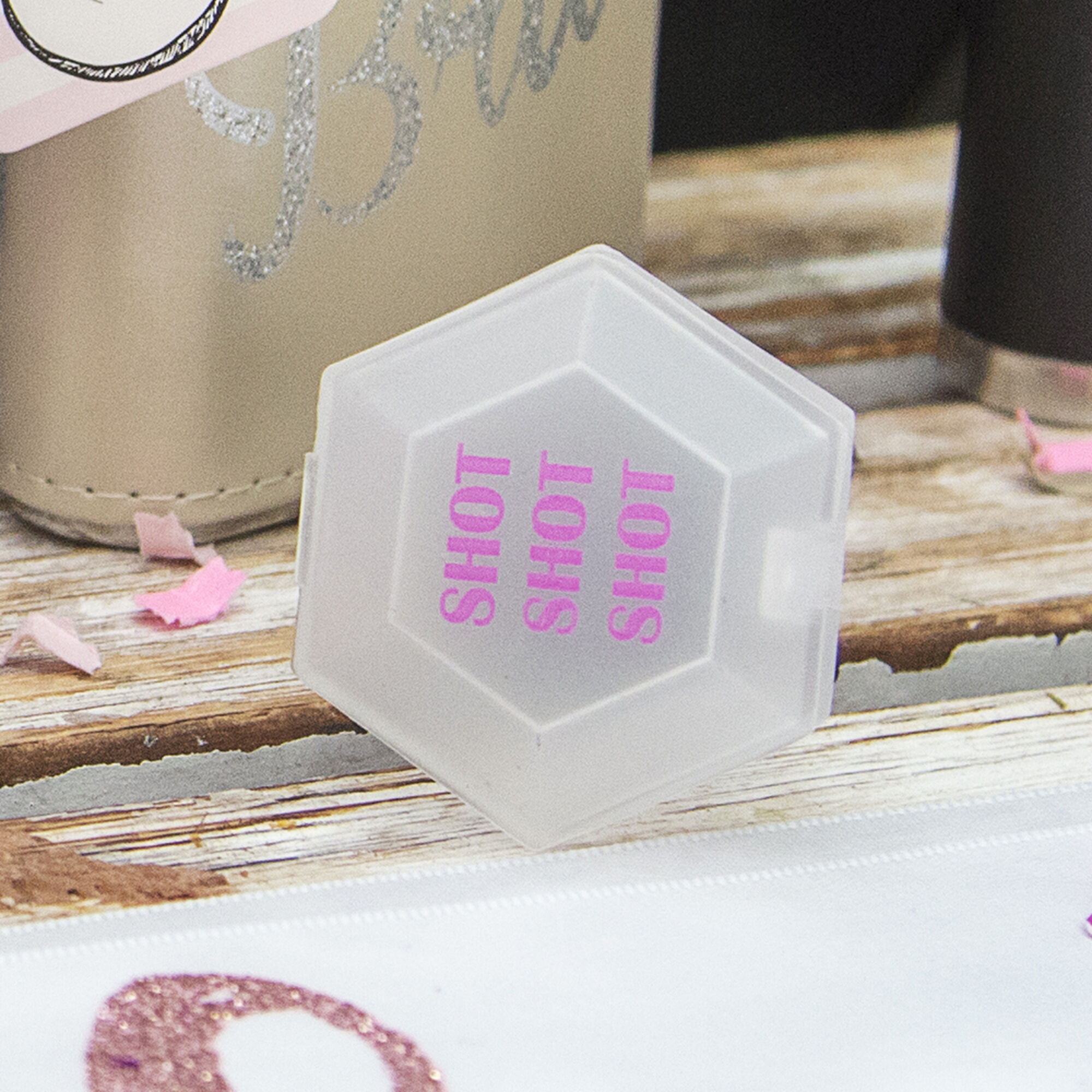 Bachelorette Diamond Shot Glass Ring | Icing US