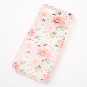 Coral Floral Protective Phone Case - Fits iPhone® 6/7/8/SE,