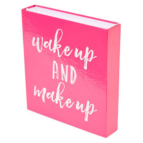Wake Up & Makeup Booklet Cosmetic Set,