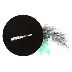 St. Patrick's Day Glitter Mini Hat Hair Clip,