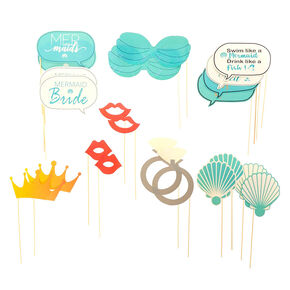 Mermaid Bachelorette Photo Props,
