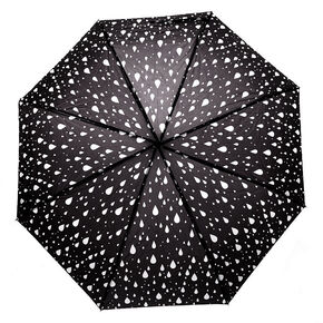 Rain Drops Umbrella - Black,