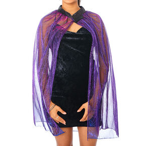 Spiderweb Cape - Black,