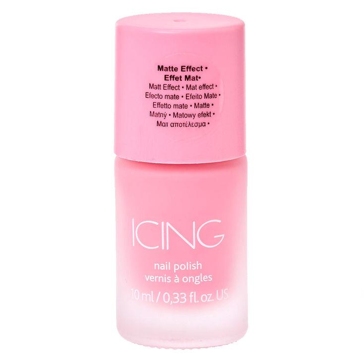Sorbet Pink Matte Nail Polish,