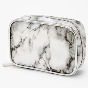 Black and White Marble Mini Makeup Bag,