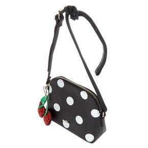 e5b8ed6445 Polka Dot Crossbody Bag - White