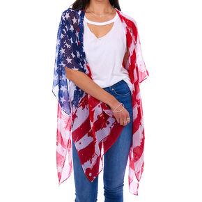 American Flag Kimono,