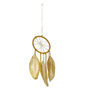 Gold-Tone Chain Dream Catcher,
