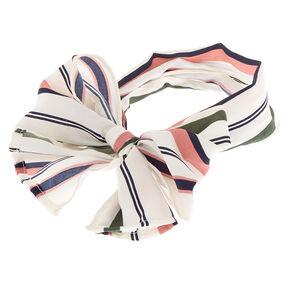 Multi Stripe Headwrap Scarf,