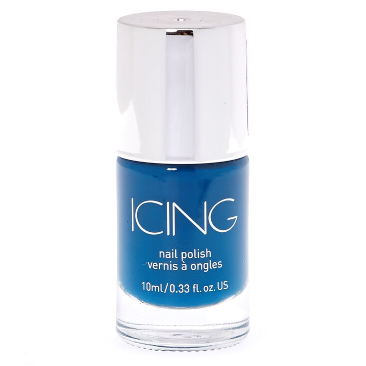 Ahoy Mate Navy Blue Nail Polish,