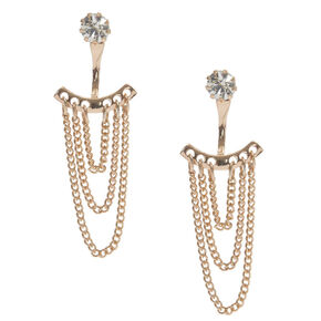 Loop Chain Ear Jackets,