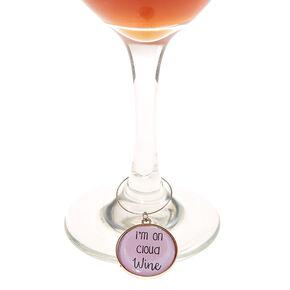 Sassy Wine Glass Markers,
