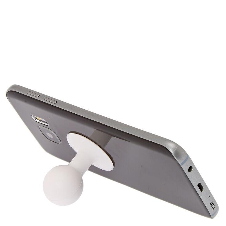 White Gumball Phone Stand,
