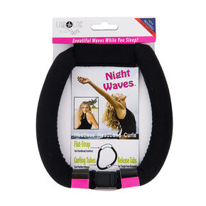 LocALoc® Night Waves Heatless Curling Headband,