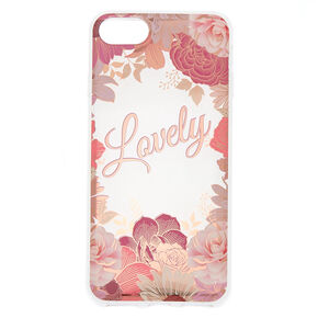 Lovely Floral Phone Case - Fits iPhone 6/7/8 Plus,