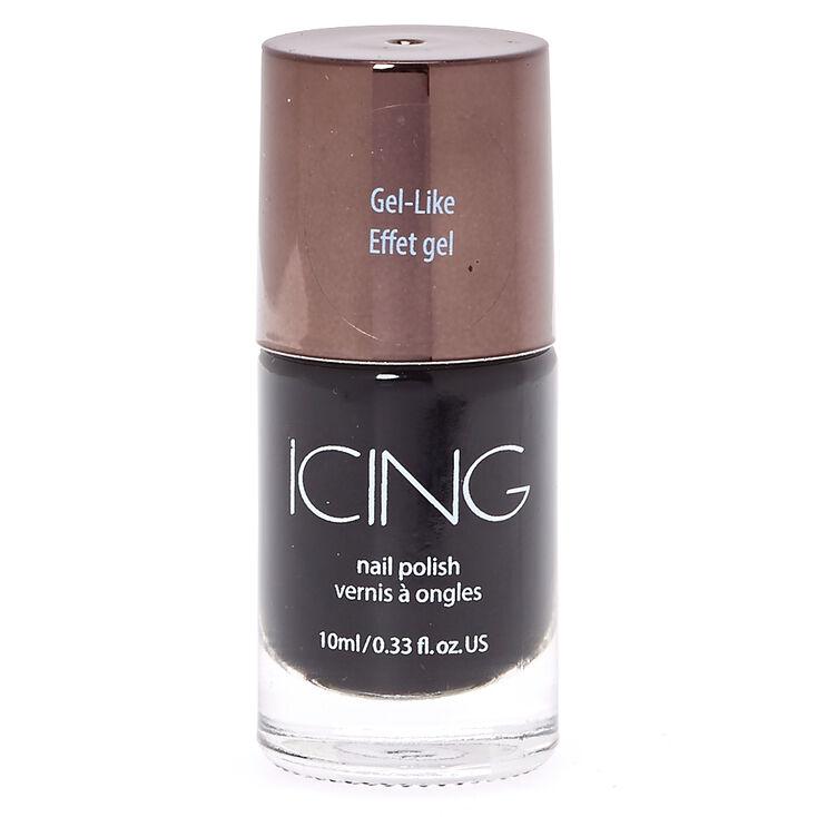 Gel Like Black Nail Polish,