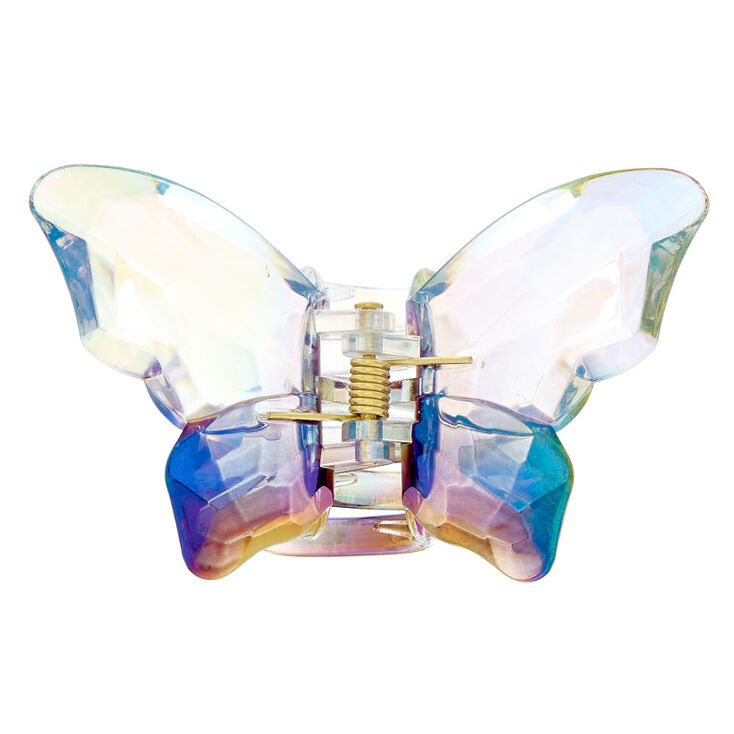 Iridescent Butterfly Hair Claw,