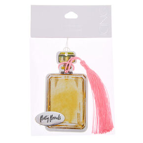 Flirty Florals Perfume Bottle Air Freshener,