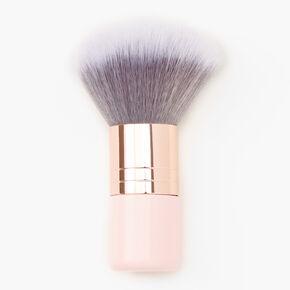 Rose Gold Kabuki Brush - Pink,