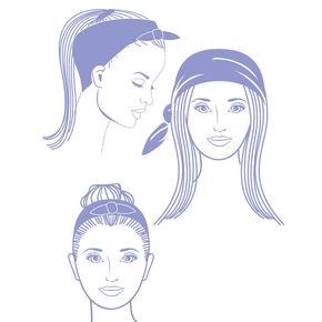 Paisley Bandana Headwrap - Red,
