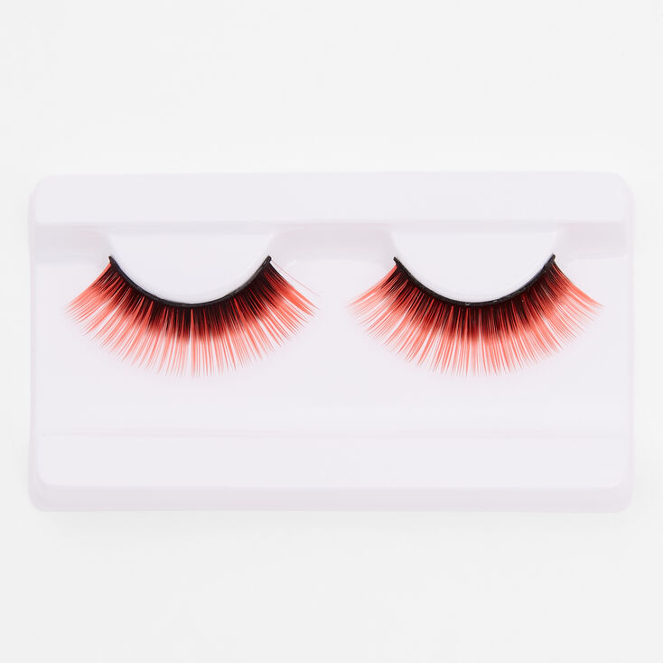 Red & Black False Lashes,