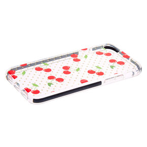 Cherry Pop Clear Protective Phone Case - Fits iPhone 6/7/8,